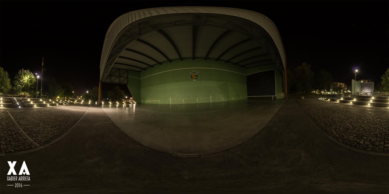 Zornotzako frontoietako bat HDR 360