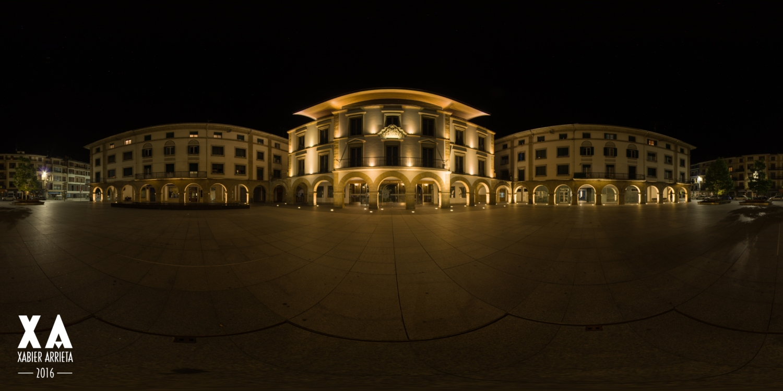 Zornotzako udaletxea 360 HDR Panorama