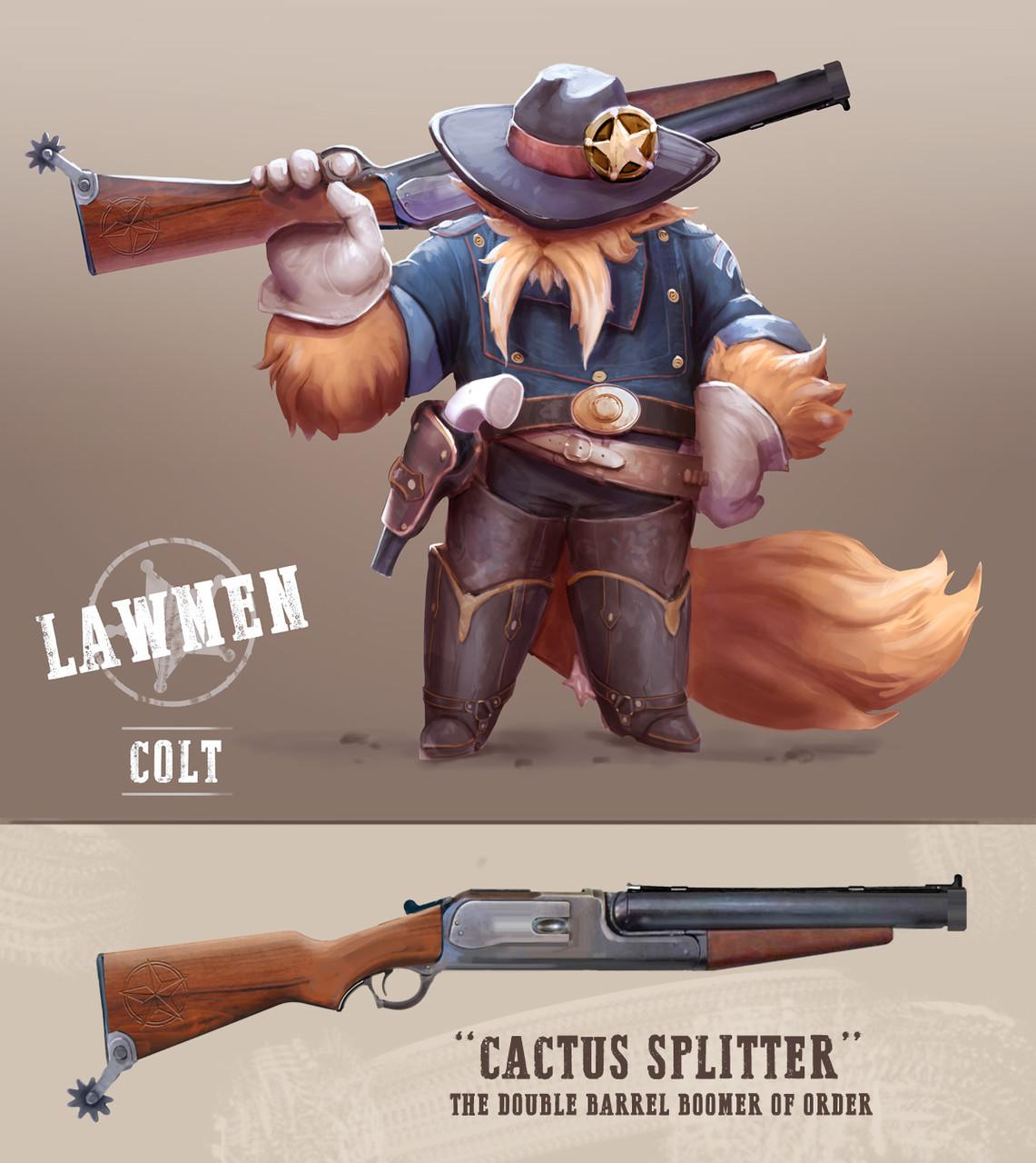 Colt Concept Art